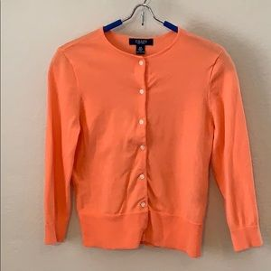 Chaps Coral Cardigan